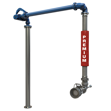 Short Range Hose Bottom Loading Arm