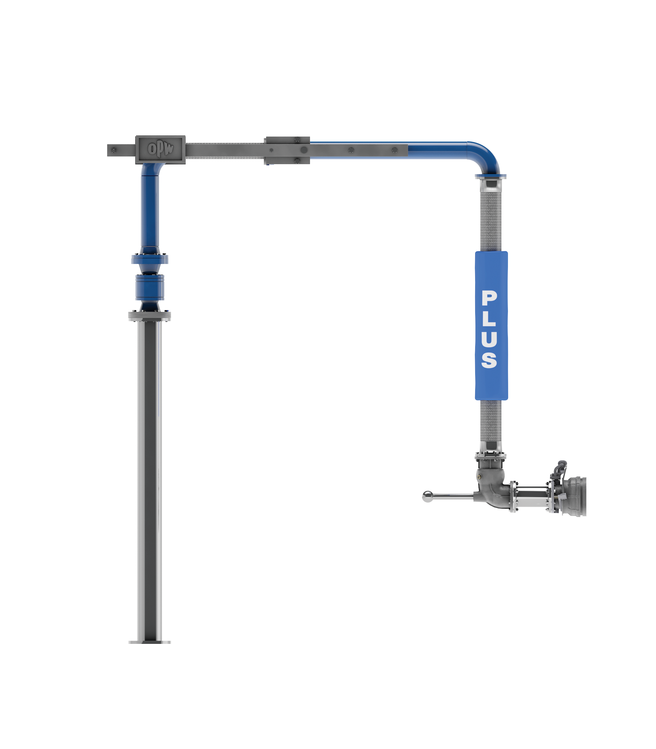 Counterweighted Hose (CWH) Bottom Loading Arm