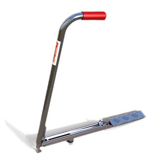 Fibrelite cover lifting handle