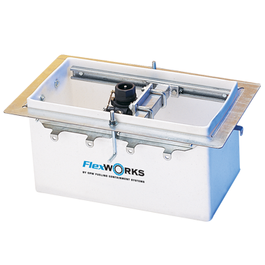 FlexWorks Polyethylene Dispenser Pans