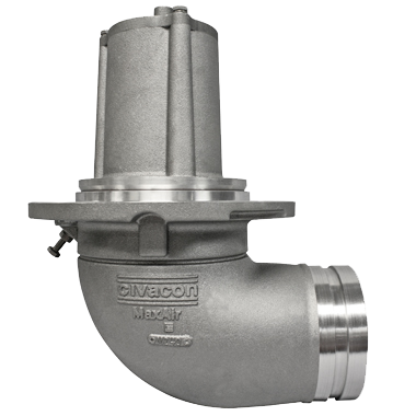 "MaxAir II 5""x4"" Internal Valve"