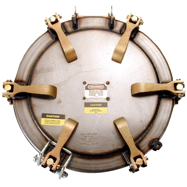 "MZ 20"" Pressure Manhole Covers 25psi"