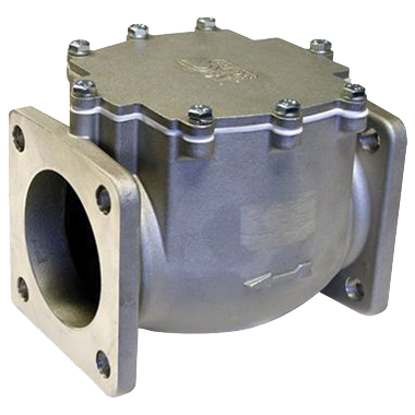 3-inch Aluminum Swing Check Valves by Knappco