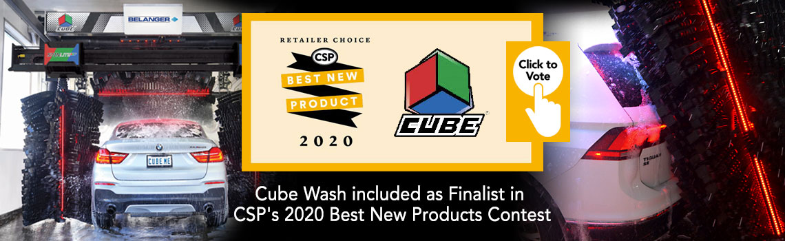 Cube Wash included as Finalist in CSPs 2020 Best New Products Contest