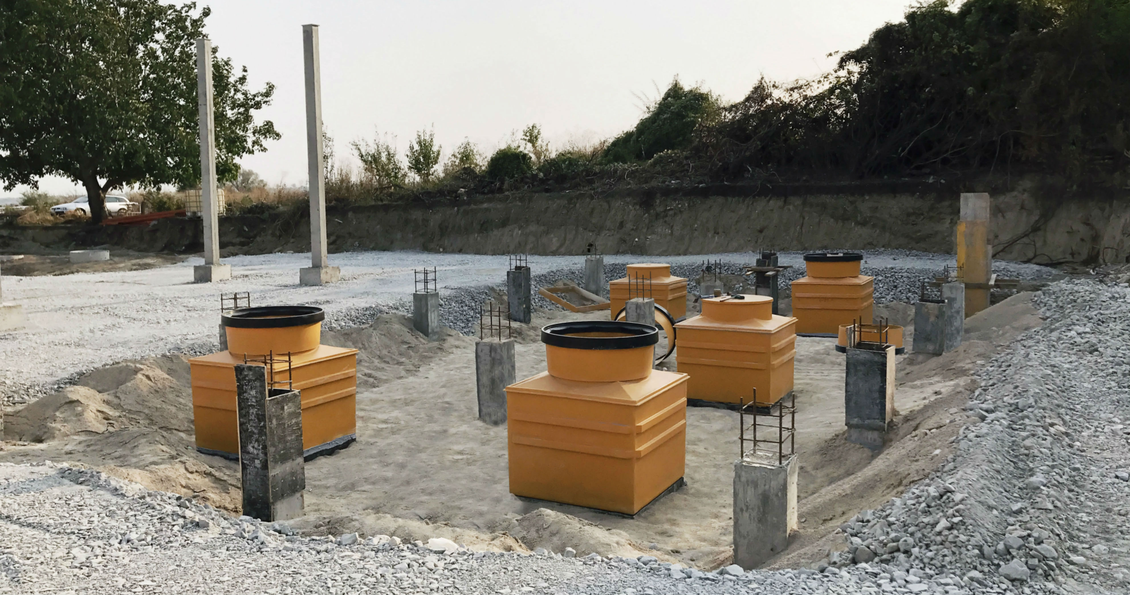 OPW's easy-install Fibrelite below-ground containment can be fit and forgotten for the lifecycle of the site