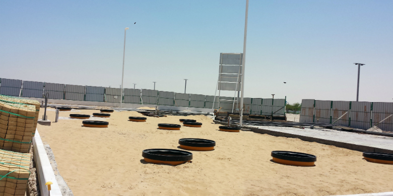 Qatari Oil Company Awards Fibrelite Sole Supplier Status for Tank and Dispenser Sumps to Handle Desert Climate Conditions