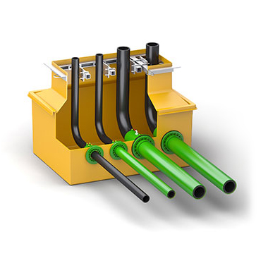 Fibrelite dispenser sump