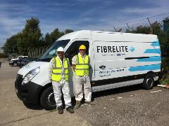 Fibrelite on the road