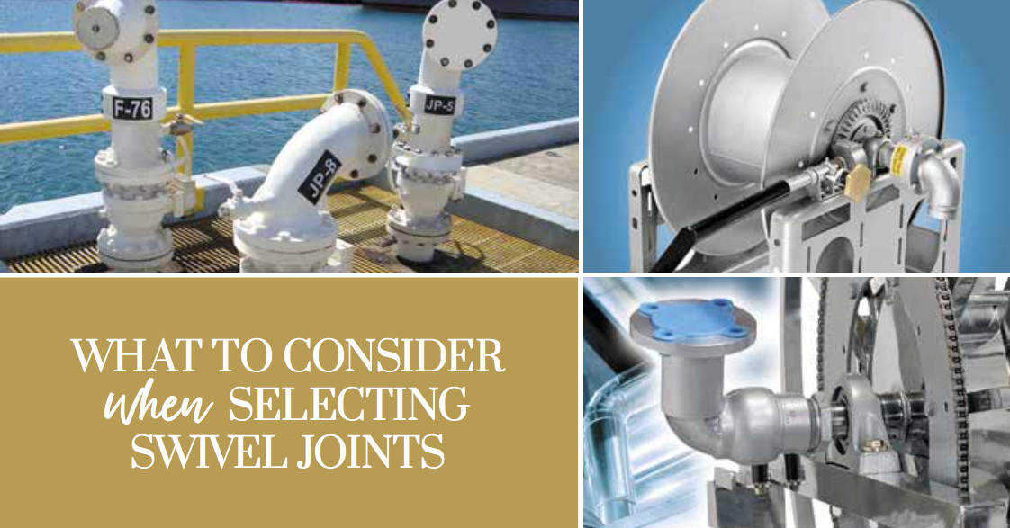 What to Consider When Selecting Swivel Joints