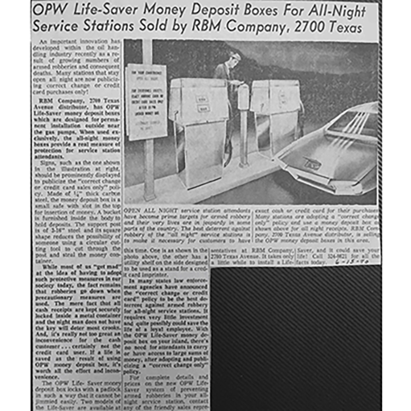 1970 OPW article