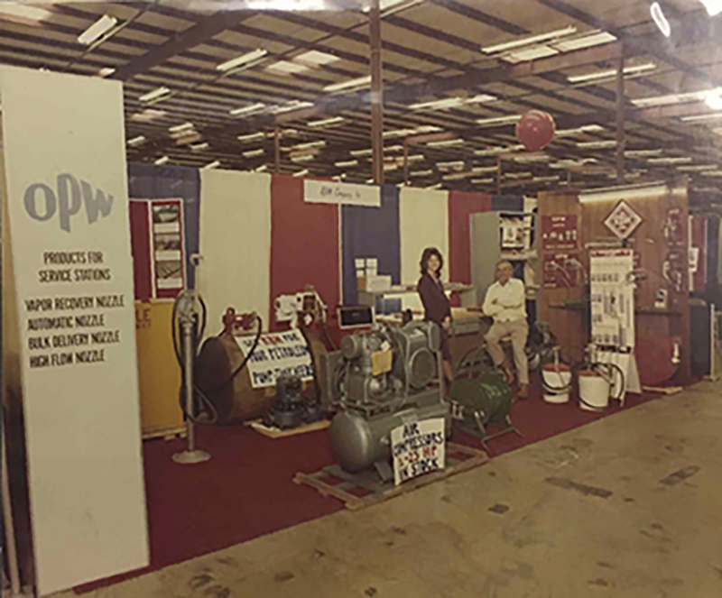 1973 RBM OPW trade shows