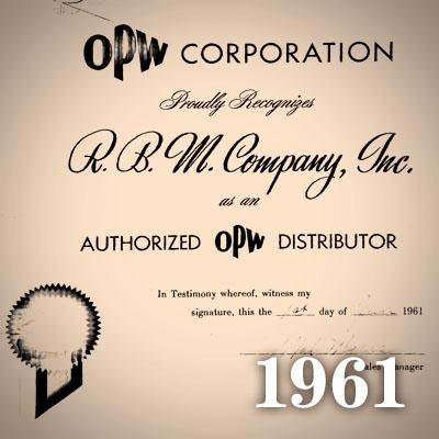 1961 RBM distributor