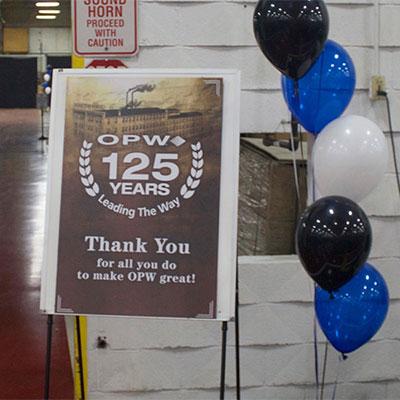OPW125 celebration