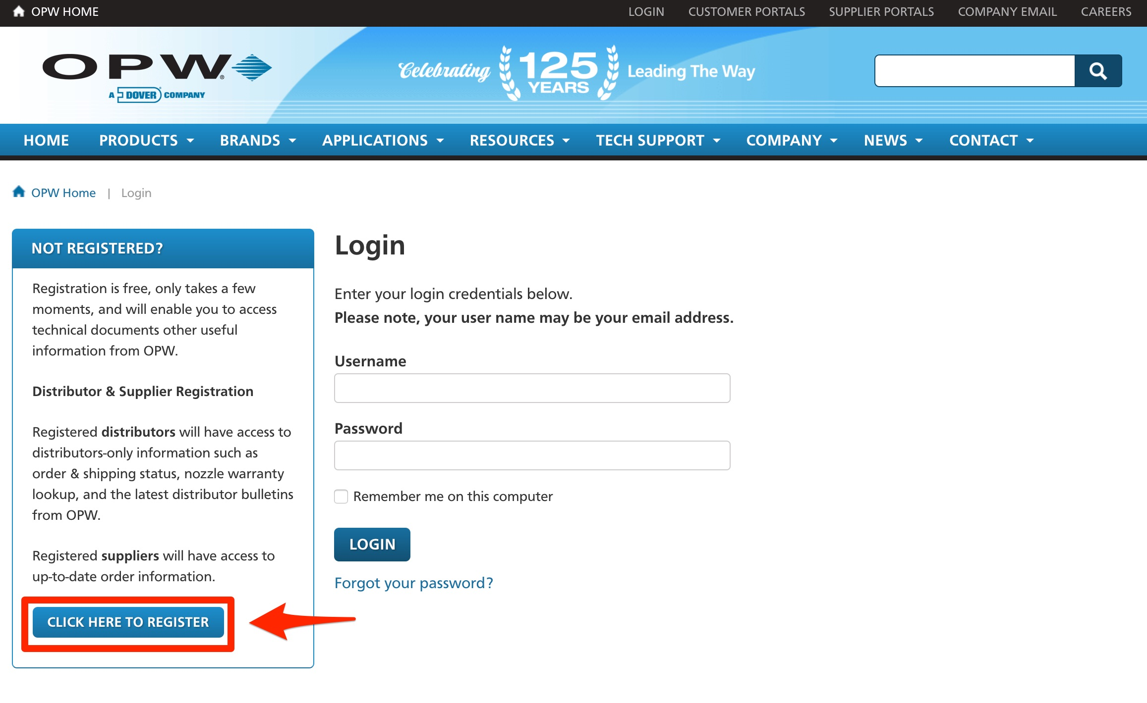 User Registration 2