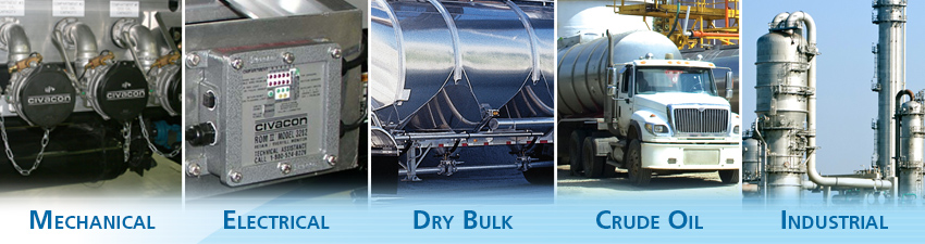 Civacon Markets - Mechanical, Electrical, Dry Bulk, Crude Oil and Industrial