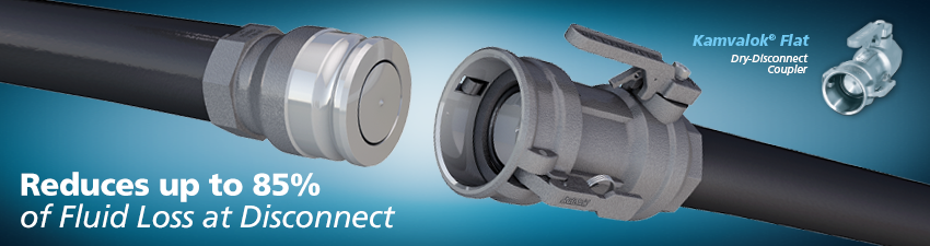 Kamvalok Dry-Disconnect Coupler