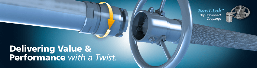 TwistLok Dry-Disconnect Couplers