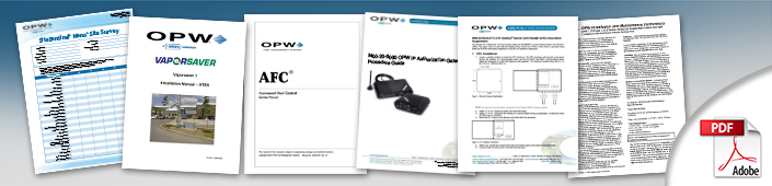 OPW-FMS Technical Manuals