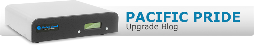 Pacific Pride Upgrade Blog