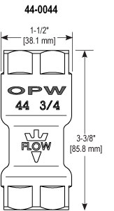 OPW 44 and 44N Flow Limiters