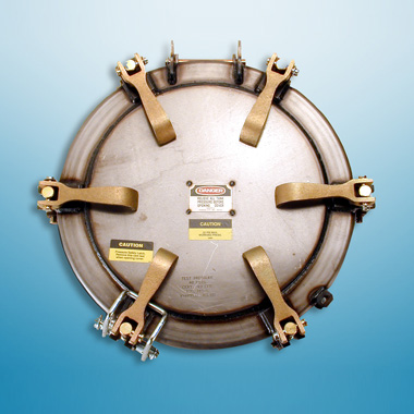 MZ 20' Pressurized Manhole Cover